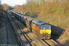 66850 'David Maidment OBE' at Haresfield with 4V30, 0802 Ratcliffe Power Station to Portbury on 17th January 2014.