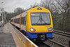 LO 172003 waits to leave Gospel Oak forming 'Goblin' service 2J71, 1505 to Barking on 31st January 2014.