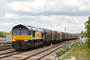 66848 passes Swindon with 6V62, 1120 Tilbury Riverside to Llanwern on 24th May 2014.