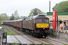 WCRC 47746 at Llandovery with Compass Tours 1Z47, 0527 Darlington to Cardiff Central, 'The Heart of Wales Scenic Rambler' on 7th May 2014.