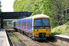 166201 passes Shalford forming 1O76, 1334 Reading to Gatwick Airport on 3rd May 2014.
