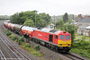 60019 'Port of Grimsby & Immingham' passes Undy with 6B13, 0501 Robeston to Westerleigh on 7th June 2014.