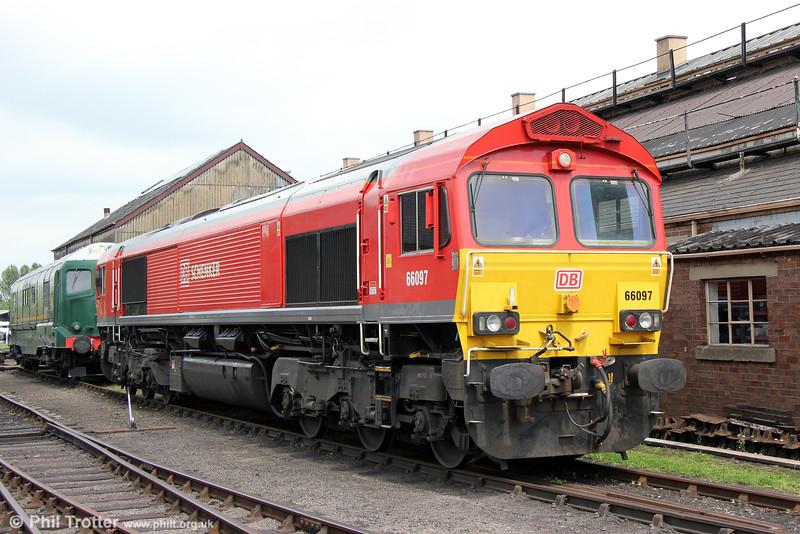 DBS 66097 at Didcot Railway Centre on 23rd May 2015.