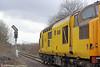 NR 97304 'John Tiley' at Hendy Junction with 1Q05, 0855 Newport ADJ to Landore via Onllwyn, Cwmgwrach and Pontarddulais on 17th January 2015.