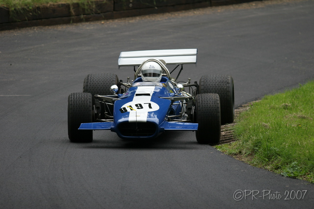 Paul Matty supported Championship classes at Shelsley Walsh 3rd June 2007
