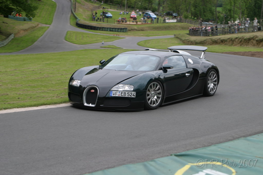 Prescott Hillclimb Saturday 'La Vie En Bleu' - Hillclimb club meeting featuring the Bugatti Veyron driven by Factory test driver Pierre-Henri Raphanel