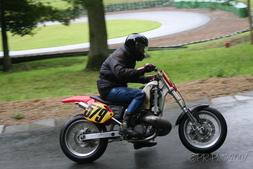 National Hill Climb Association Motor Bike classes at Prescott on the 24th June 2007