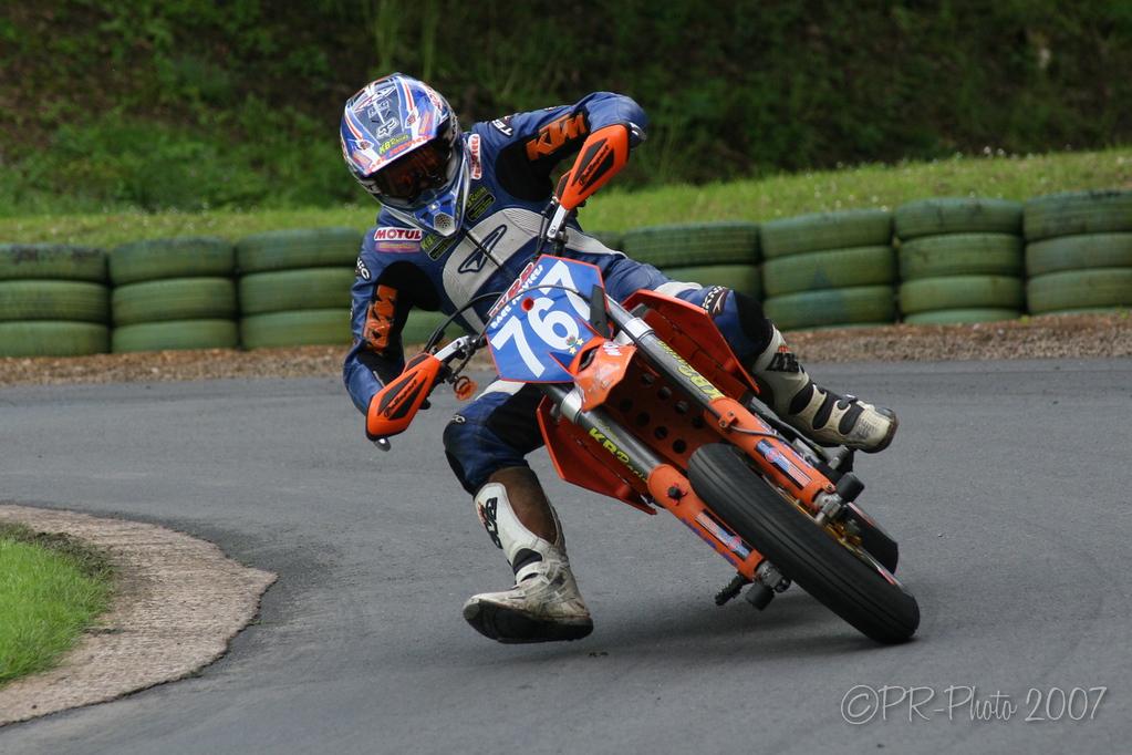 24/07/2007 Prescott Hillclimb Midland Championship round featuring NHCA Motor Bikes