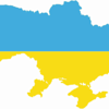 Ukraine-flag-map