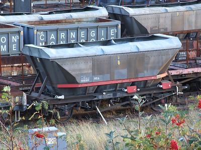 HBA hooded hopper 368069 at Tees Yard, 4th Oct 2007