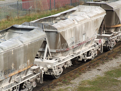 HCA MGR coal hopper with canopy