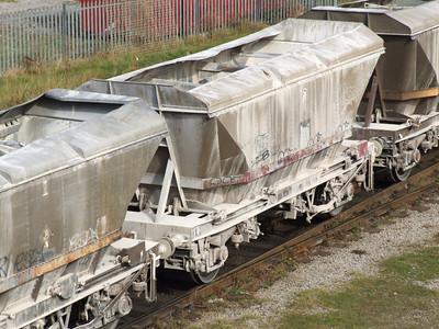 HCA MGR coal hopper with canopy