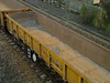 Interior shot of JNA 'Falcon' NLU29045 at Exminster on track renewal work - 31st January 2009
