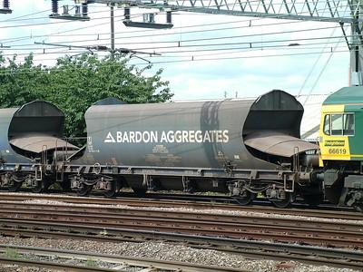 JRA - Bardon (ex ECC) bogie hoppers