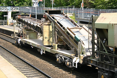 KJA self discharge train conveyor wagon