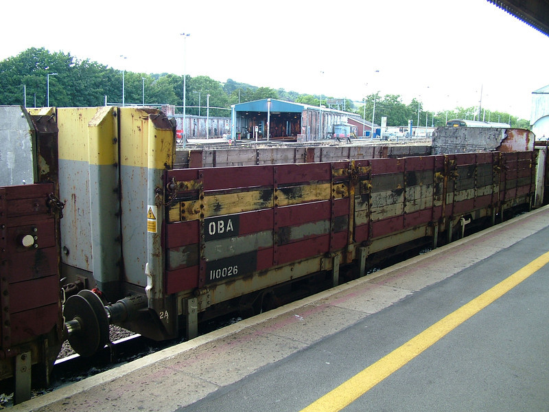 110026 at Exeter St Davids, 29th Aug 2005