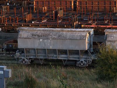 PAA limestone hopper BSGL8155 at Tees Yard, 4th October 2007