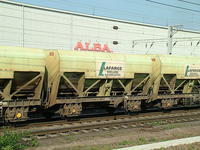 PHA self discharge train hopper wagons