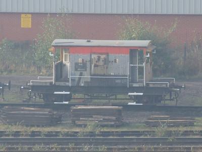 RAR - Staff riding platform (ex brake van)