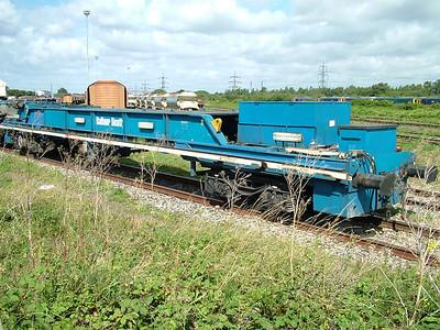 YJA-F Balfour Beatty track laying train power wagon