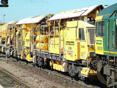 YOA-L - Ballast distribution train power wagon