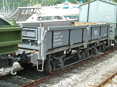 ZBV DB991235 was a Lamprey (despite being marked Grampus) - Kingswear 28th June 2007