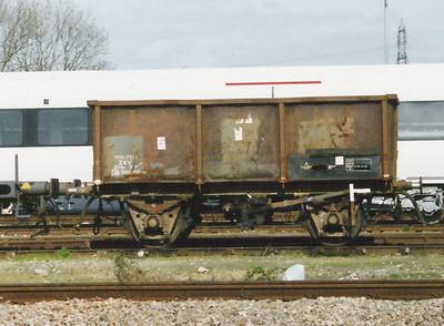 ZKV 'Barbel' and 'Zander' spoil wagons