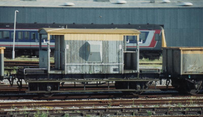ZTP DB952212 at Old Oak Common circa 1990