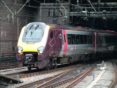 Unidentified class 220 arriving at Birmingham New St, 26th July 2009