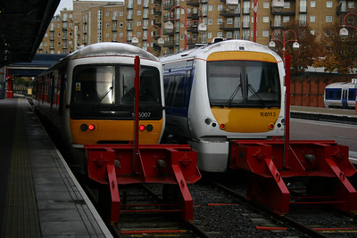 165007 and 168113 at Marylebone