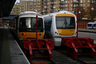 165007 and 168113 at Marylebone