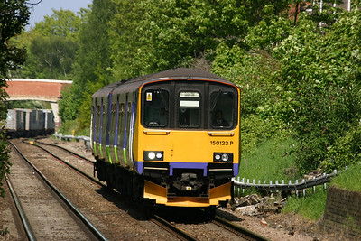 150123 - London Overground in Silverlink livery