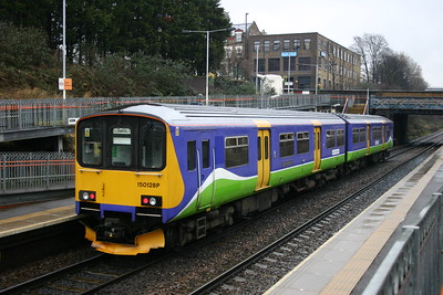 150128 - London Overground in Silverlink livery