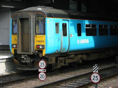 2003-10-13 - Birmingham New St and Leeds