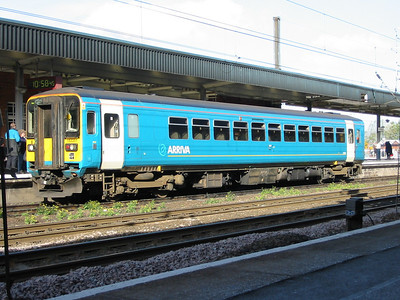 Arriva Trains Northern 153351 at Doncaster, 14th Oct 2003