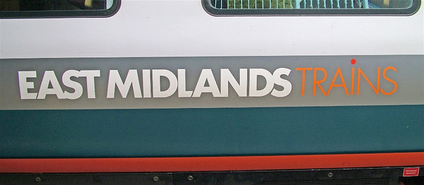 East Midlands Trains branding on 222009