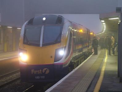 180112 at a foggy Bristol Parkway - 6th November 2006