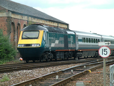 43051 passes Exeter St Davids on hire to Virgin Cross Country