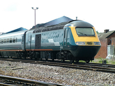 43196 passes Exeter St Davids on hire to Virgin Cross Country