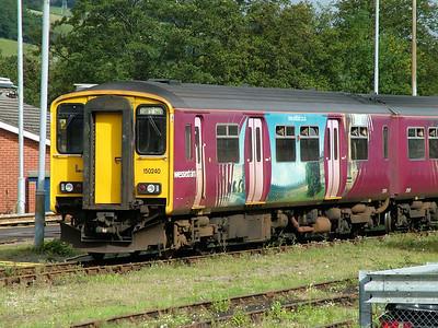 150240 - Wessex Trains 'Bath' vinyls