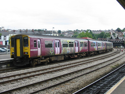 Wessex Trains class 150