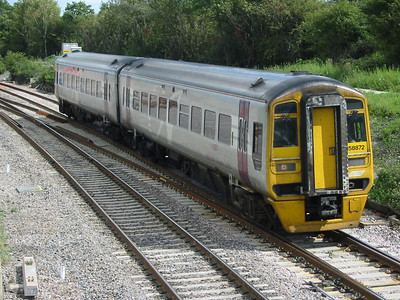 Wessex Trains class 158