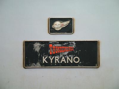 57310 'Kyrano' nameplate