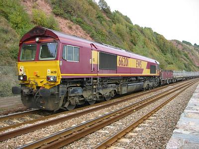 2003-10-11 - Dawlish & Teignmouth engineering work