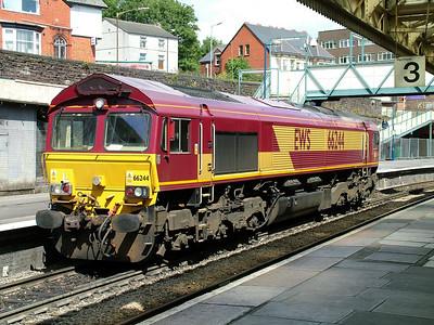 Class 66 - 662xx (EWS/DB Schenker)