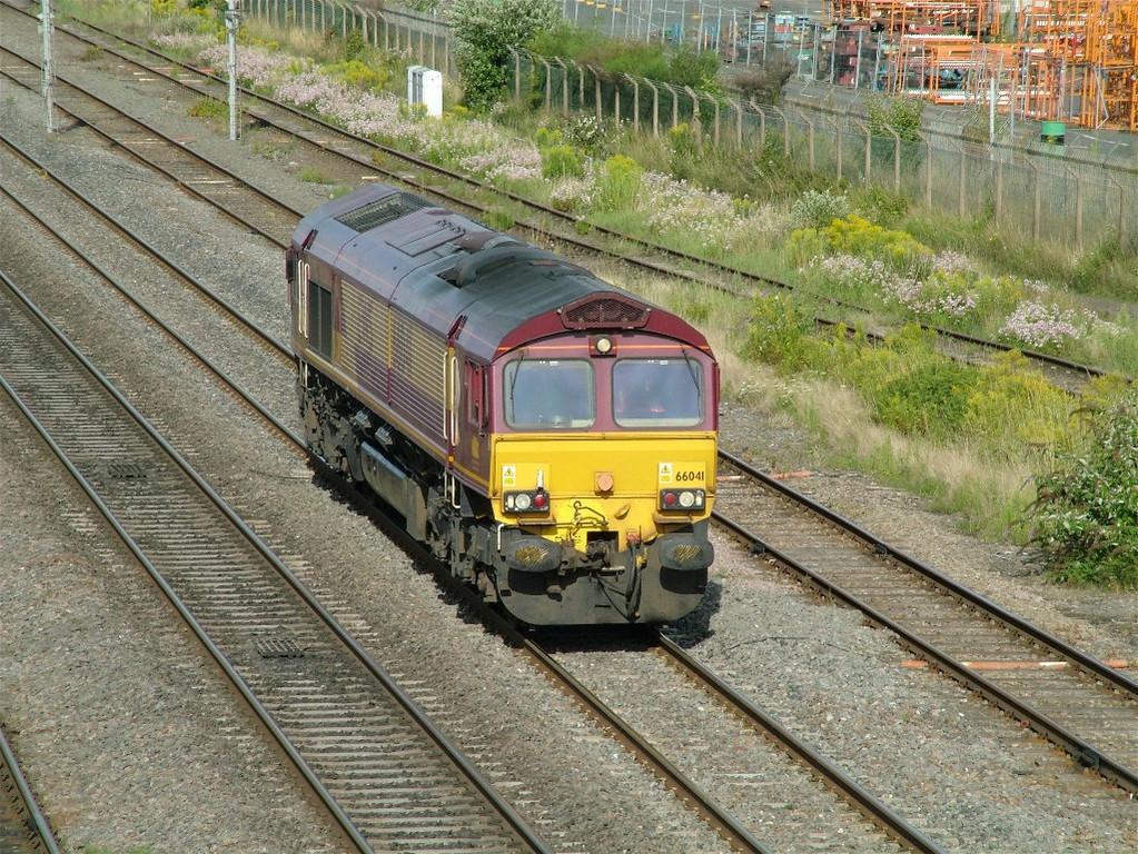 66041 light engine past Washwood Heath