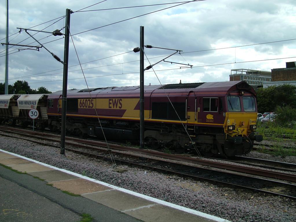 66025 at Peterborough