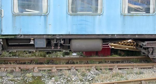 Set 410 TBSK 70812 at Meldon, 6th March 2004