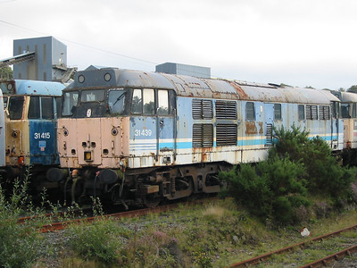 31439 at Meldon Quarry, 26th Aug 2004