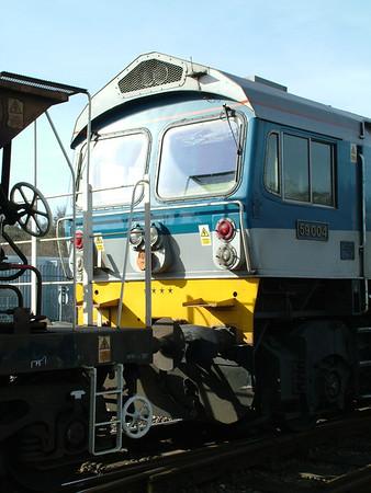 2009-03-15 - Exeter St Davids engineering work